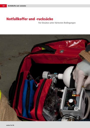 Notfallkoffer und -rucksäcke - Hallo-Medi