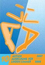 aktion 2007 ausbildung für linden/limmer 2008 - halloLindenLimmer ...