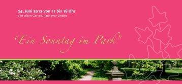 """""""Ein Sonntag im Park"""""""