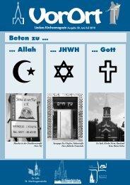 Beten zu … … JHWH … Allah … Gott - Linden entdecken...