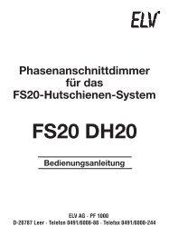 FS20 DH20 - Wohlrabe.info