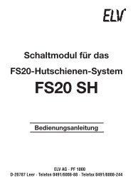 FS20 SH - Wohlrabe.info