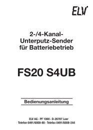 FS20 S4UB - ELV