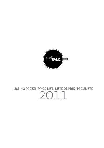 listino prezzi ³ price list ³ liste de prix ³ preisliste - Wohlrabe.info