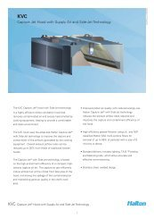 Capture Jet Hood with Supply Air and Side-Jet ... - Halton Company