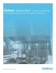 Capture Ray Brochure - Halton Company