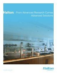 Foodservice Product Brochure - Blk Text.indd - Halton Company
