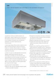 UVI Capture Jet™ Canopy with UV grease removal ... - Halton