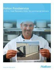 Halton's HRU Brochure - Halton Company