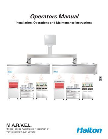 kve operators manual halton company