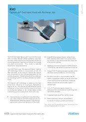 KVO Spec Sheet - Halton Company