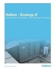 Ecology-E Brochure - Halton Company