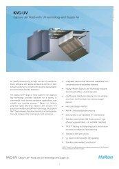 KVC-UV - Halton Company