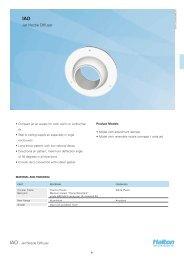 IAO - Jet Nozzle Diffuser - Halton