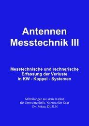 Messtechnische und rechnerische Erfassung der ... - HAM-On-Air
