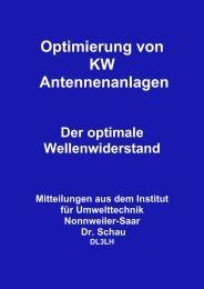 Der optimale Wellenwiderstand - HAM-On-Air