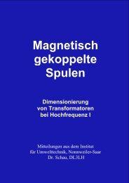 Dimensionierung von Transformatoren bei ... - HAM-On-Air