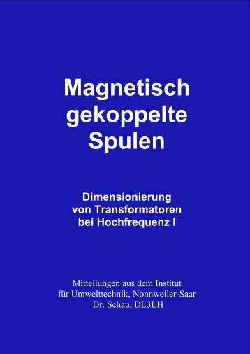 Dimensionierung von Transformatoren bei ... - HAM-On-Air