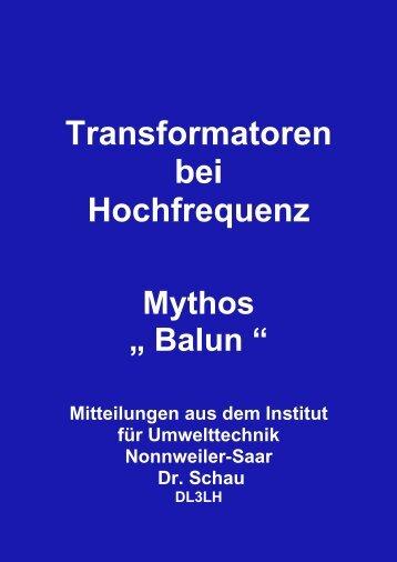 Mythos Balun - HAM-On-Air