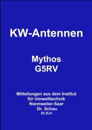 Mythos G5RV - HAM-On-Air