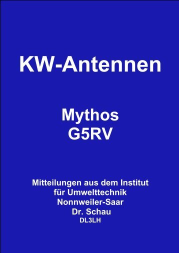 Mythos G5RV - HAM-On-Air