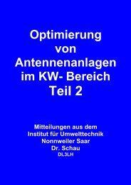 Optimierung von KW Antennenanlagen Teil 2 - HAM-On-Air