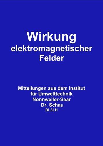 Wirkung elektromagnetischer Felder II - HAM-On-Air