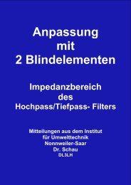 Impedanzbereich LC, CL Filter2 - HAM-On-Air