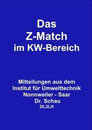 Z-Match im KW Bereich - HAM-On-Air