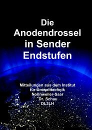 Anodendrossel - HAM-On-Air