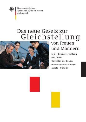 Bundesgleichstellungsgesetz (BGleiG)