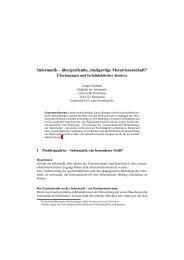 Humbert, Ludger: Informatik übergreifende, einzigartige ...