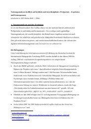 Nutzungsanalysen im Blick auf fachliche und interdisziplinäre ...