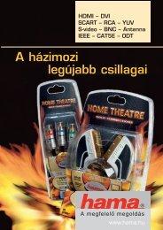 Home Theatre kábelek termékkatalógus - Hama
