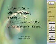 Informatik --