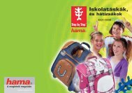 Iskolatáskák, - Hama