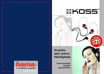 Amerika elsô számú fejhallgatója - Hama