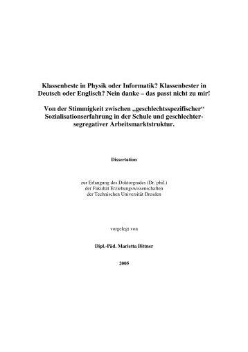 Klassenbester in Deutsch oder Englisch? Nein danke – das passt ...