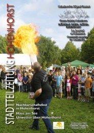 Stadtteilzeitung Hohenhorst Ausgabe 4_11