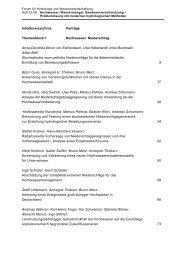 Inhaltsverzeichnis Vorträge Themenblock 1 Hochwasser: Niederschlag ...