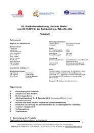 Protokoll 60 - Hohenhorst
