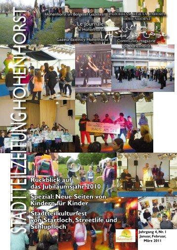 Stadtteilzeitung Hohenhorst Ausgabe 1_11