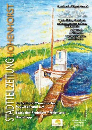 STADTTEILZEITUNG - Hohenhorst
