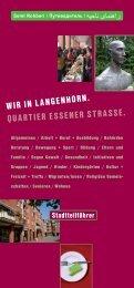 BEL Wegweiser.indd - auf der Website von Langenhorn–Nord