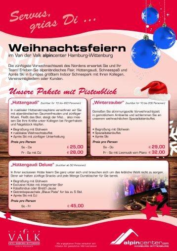 Weihnachtsfeiern (PDF) - Hamburg Locations