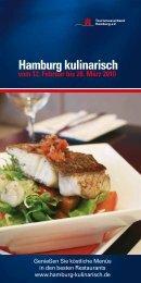 Hamburg kulinarisch vom 12. Februar bis 28. März 2010
