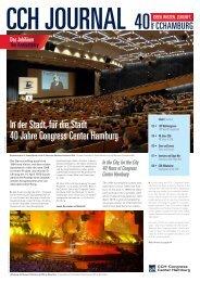 40 Jahre CCH Journal