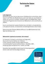 Technische Daten (PDF) - Hamburg Locations