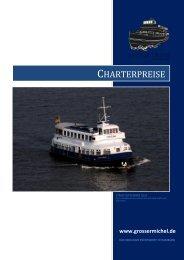 CHARTERPREISE - Hamburg Locations