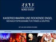 Weihnachtsprogramme für Firmen und Großgruppen - Hamburg ...